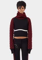 Versace Cropped Multi Turtleneck