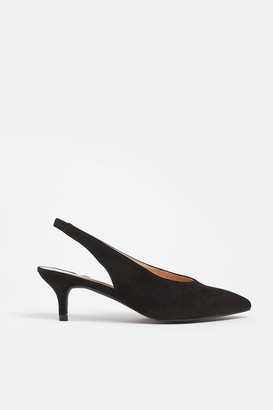 Coast Pointed Sling Back Kitten Heel