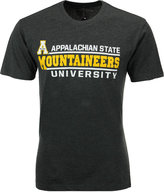 Colosseum Men's Appalachian State Mountaineers Verbiage Stack T-Shirt