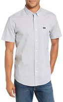 RVCA Men's 'That'Ll Do' Trim Fit Microdot Woven Shirt