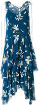 Isa Arfen flared floral midi dress