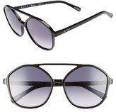 Raen Women's Torrey 58Mm Aviator Sunglasses - Black