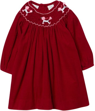 Carriage Boutique Smocked Embroidered Bishop Dress