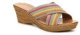 Italian Shoemakers Goddess Wedge Sandal