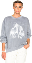 Baja East Fleece Horses Sweatshirt