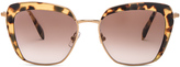 Miu Miu Square Sunglasses