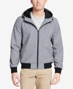 Dockers Soft Shell Hooded Bomber Jacket