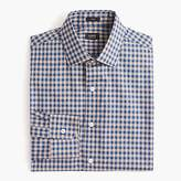 J.Crew Crosby Classic-fit spread-collar shirt in microgingham