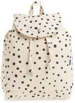 Baggu Drawstring Canvas Backpack