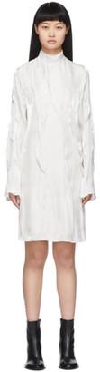 Kenzo Off-White Wave Dress
