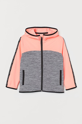 H&M Hooded sports jacket
