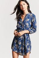 Forever 21 Floral Popover Dress