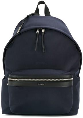 Saint Laurent Two-Way Zipped Backpack