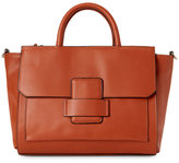 Mondani Cognac Allie Top Handle Satchel
