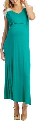 Everly Grey Margaret Maternity/Nursing Maxi Dress