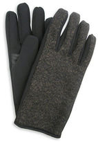 Hudson North Fleece Nylon Black Gloves