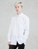Stampd Mesh Overlay Dress Shirt