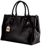 Lauren Ralph Lauren Newbury Double Zip Satchel, Black
