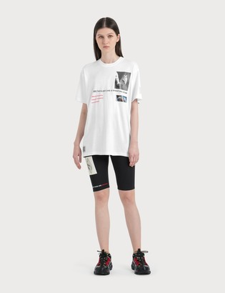 Burberry Logo Graphic Stretch Jersey Cycling Shorts