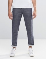 Scotch & Soda Trousers In Textured Pattern