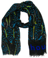 Proenza Schouler Cashmere & Silk Abstract Scarf