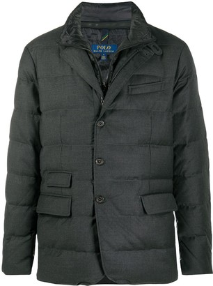 Polo Ralph Lauren Quilted Single-Breasted Down Jacket