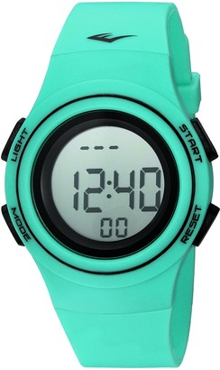 Everlast 'Heart Rate Monitor' Automatic Plastic and Rubber Fitness Watch Color:Green (Model: EVWHR006TQ)