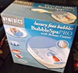 Homedics Bubble Spa Pro with Remote Control