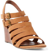 Ralph Lauren Aleigh Nubuck Sandal