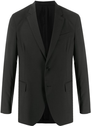 Versace Single-Breasted Tailored Blazer