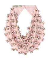 Mignonne Gavigan Delfina Scarf Necklace w/ Swarovski Pearls