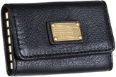 Marc by Marc Jacobs Classic Q Key Case (Black) - Bags and Luggage