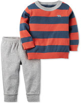 Carter's 2-Pc. Striped Sweater & Pants Set, Baby Boys (0-24 months)