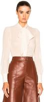 Saint Laurent Leather Slouch Culottes