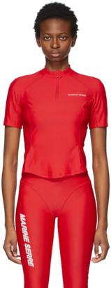 Marine Serre Red Optic Moon Sea-Skin Training T-Shirt