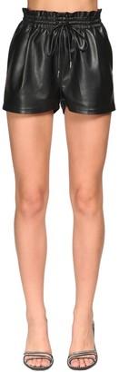 Ermanno Scervino Faux Leather Shorts