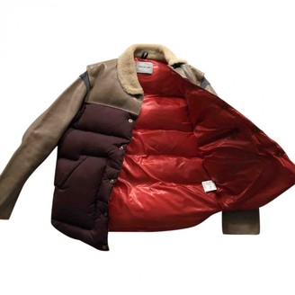 Undercover Burgundy Leather Coats