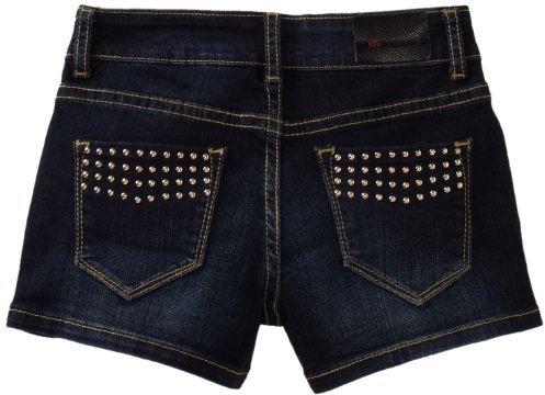 IT Jeans !iT Jeans Girls 7-16 5 Pocket Short with Gold Studdded Back Pocket