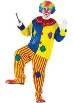 Fun World Costumes FunWorld 188312 Big Top Clown Adult Costume - Yellow