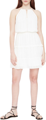 Parker Bruna Cinched Waist Mini Dress