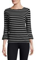 Kate Spade Stripe Knit Cotton Top