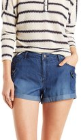 Charlotte Russe Chambray Cargo Shorts