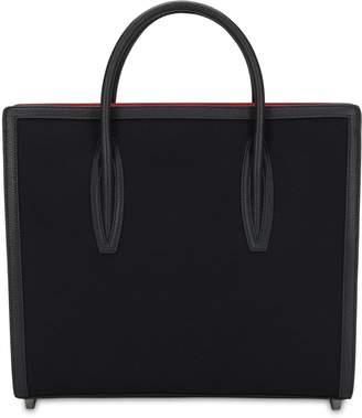 Christian Louboutin Paloma Large Canvas Top Handle Bag