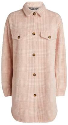 MUNTHE Edmond Houndstooth Shirt Jacket