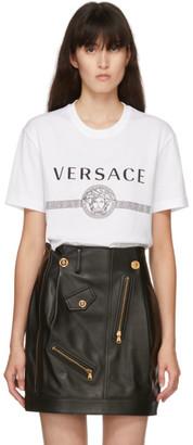 Versace White Medusa Logo T-Shirt