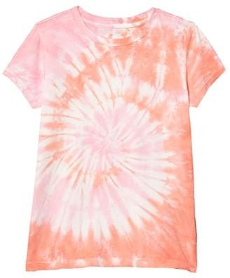 crewcuts by J.Crew Tie-Dye T-Shirt (Toddler/Little Kids/Big Kids) (Tie-Dye Multi A) Girl's Clothing