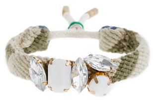 J.Crew Girls' stone pattern bracelet