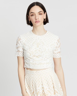 Lover Libra Lace Top