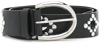 Orciani Studded Leather Belt