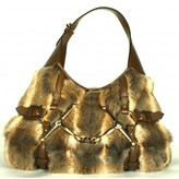 Gucci excellent (EX Limited Edition 85th Anniversary Fur Leather Shoulder Bag